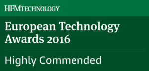 Winner European Technology awards 2016 - Portara